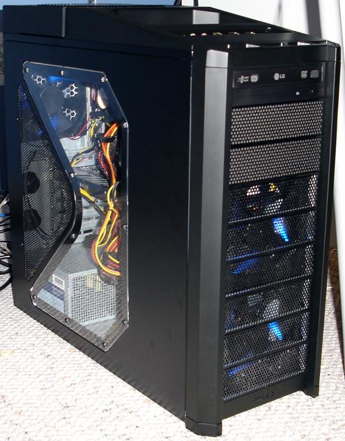 Computer - Left Angle View